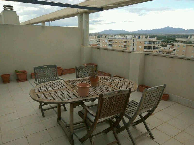 Area De La Terraza Vivienda En Alicante Inmobiliaria